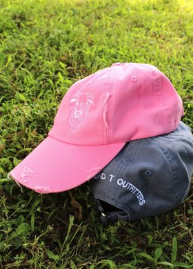 Diamond T Outfitters The Bull Distressed Cap Bubblegum