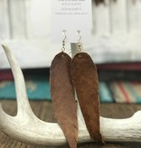 Diamond T Outfitters Vintage Feather Earring