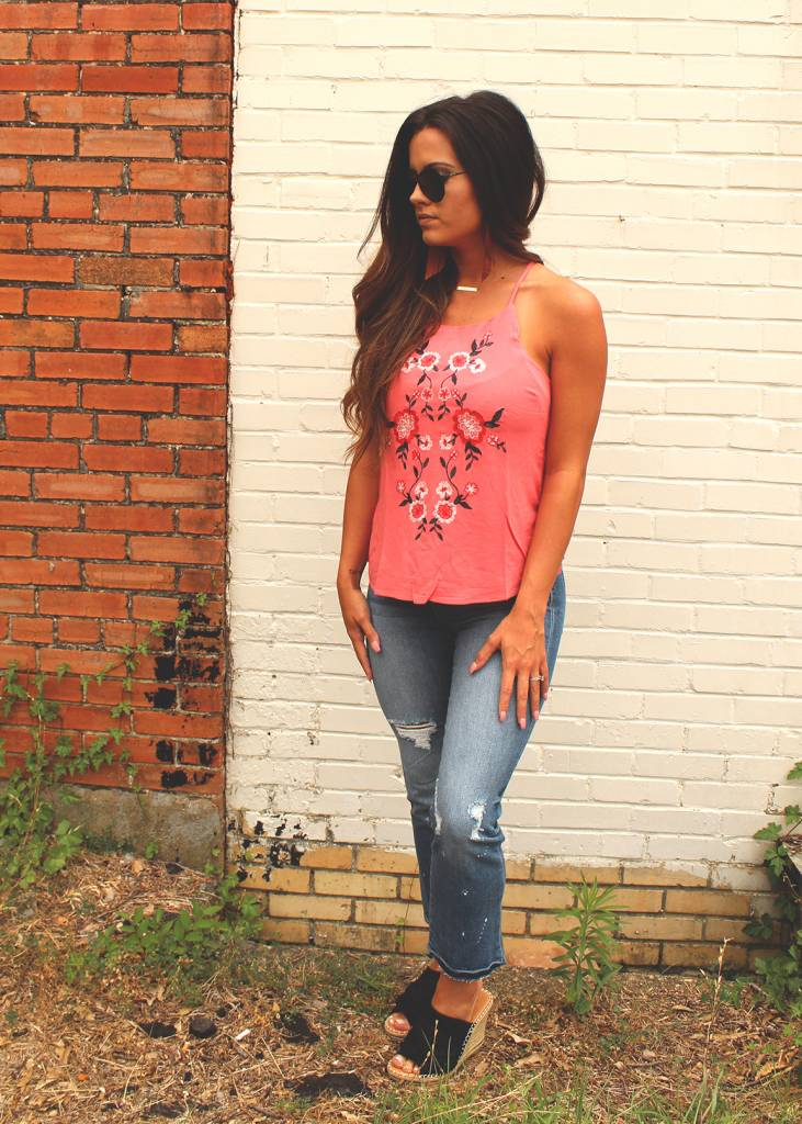 Diamond T Outfitters The Isabella Tank