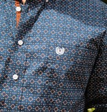 Panhandle Slim Roughstock Dress Navy Button Down