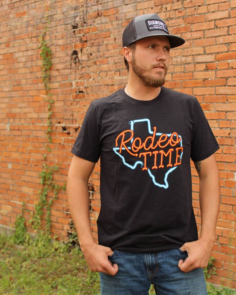Dale Brisby Neon Rodeo Time Tee