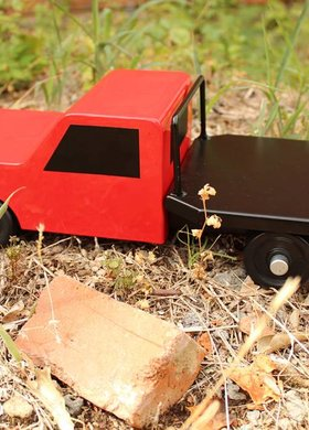 Little Buster Toys Flatbed Farm Truck