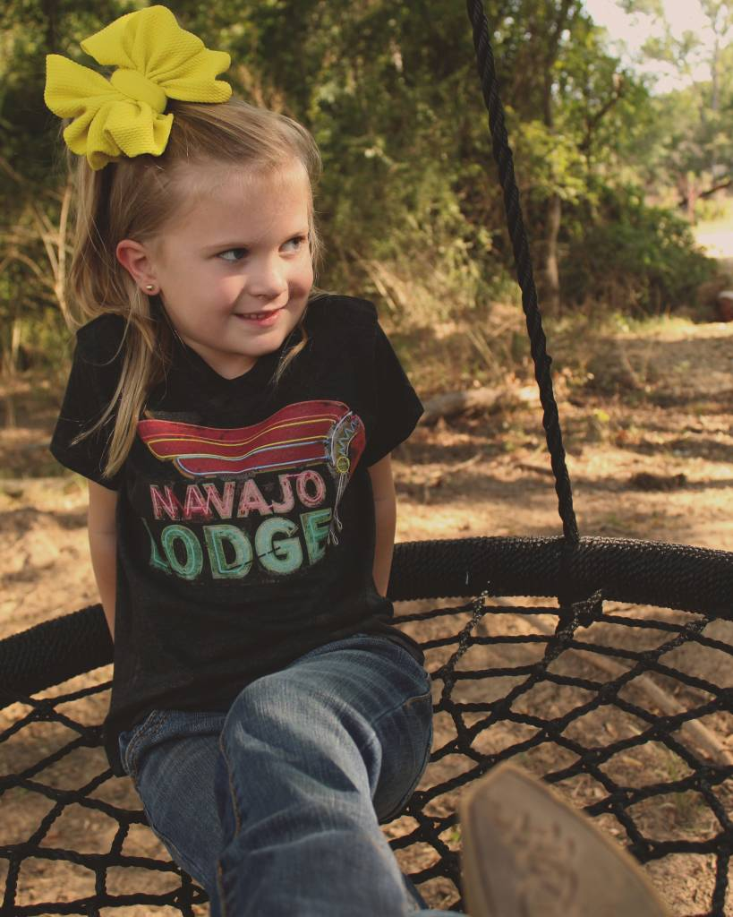 Diamond T Outfitters Navajo Lodge Tee Kids