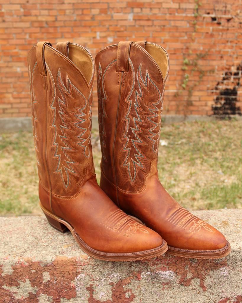 Justin Justin Bent Rail Keaton Cognac Boot