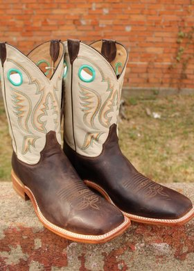 Justin Justin Bent Rail  Austin White Boot