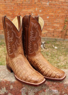 Justin Justin Voltage Tan Caiman Boot