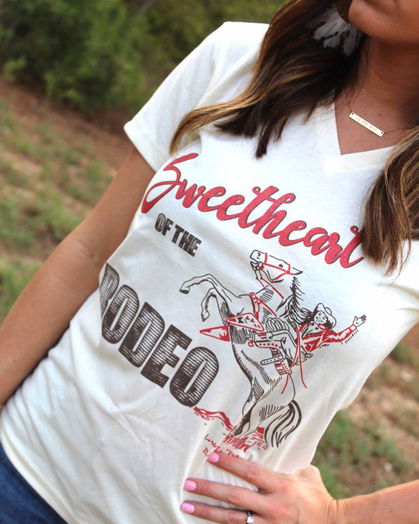 Diamond T Outfitters Sweetheart of The Rodeo Tee