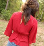 Diamond T Outfitters The Bennzi Blouse