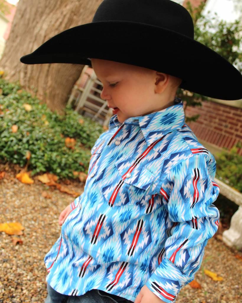 Wrangler Kids The American Aztec Snap