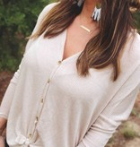 Diamond T Outfitters The Kardi in Light Taupe