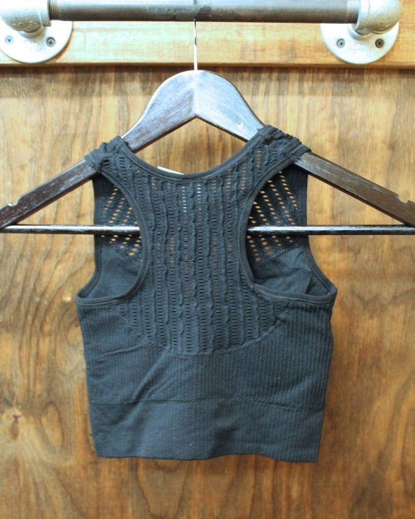 Diamond T Outfitters Washed Out High Neck Bralette