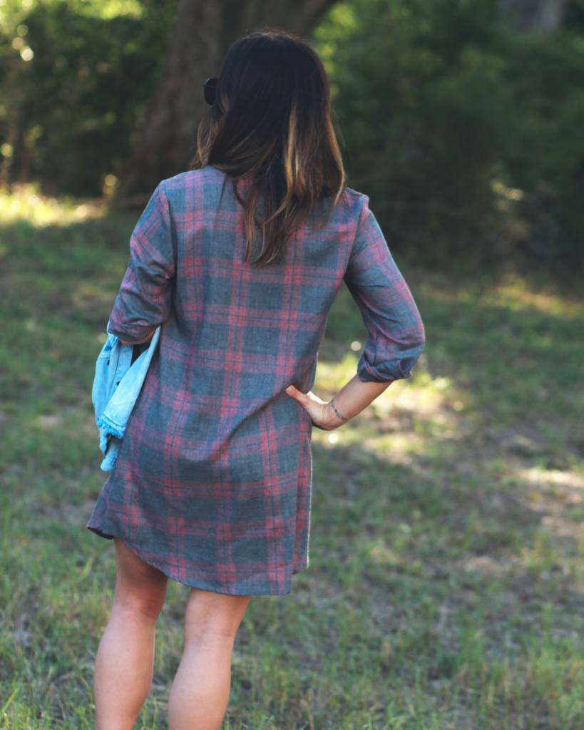 Diamond T Outfitters Morganna Plaid Tunic