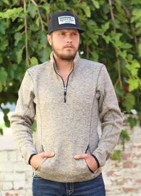 Panhandle Slim Mens Fleece Pullover in Wheat
