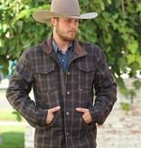 Panhandle Slim The Wool Heather Plaid Coat