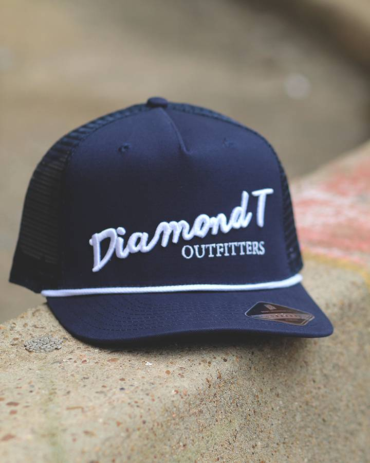 Diamond T Outfitters The Diamond T Retro Navy