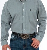 Cinch Cinch Teal Block Long Sleeve Shirt