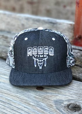 Dale Brisby Rodeo Time Bandana Snapback