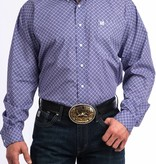 Cinch Purple Tide Longsleeve Button Down