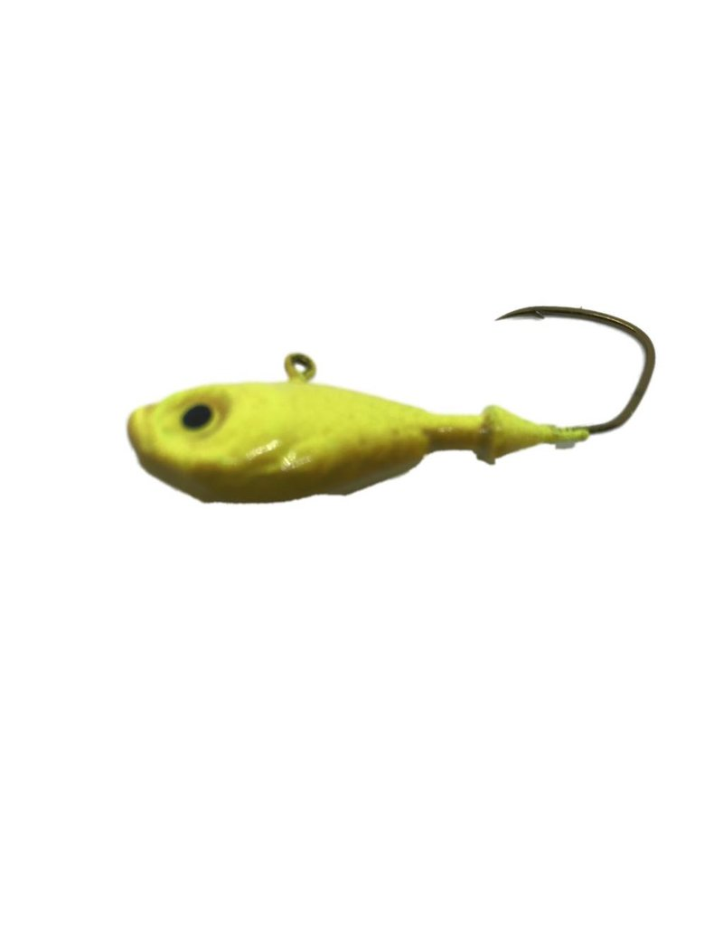 Codie Jigs Ultra Minnow 3 packs Brwn/Yellow 5/8 oz