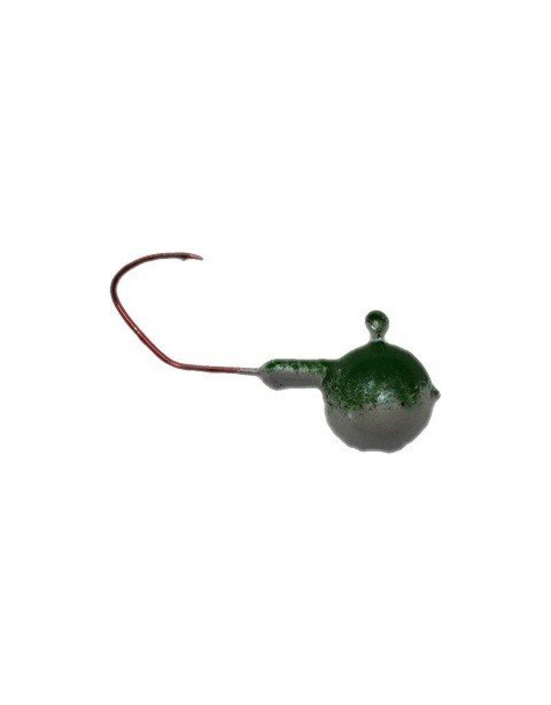 Domka Jigs Round Green / Glo