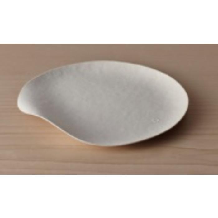 Paper Plate - Maru Medium Round  (Pack of 8)
