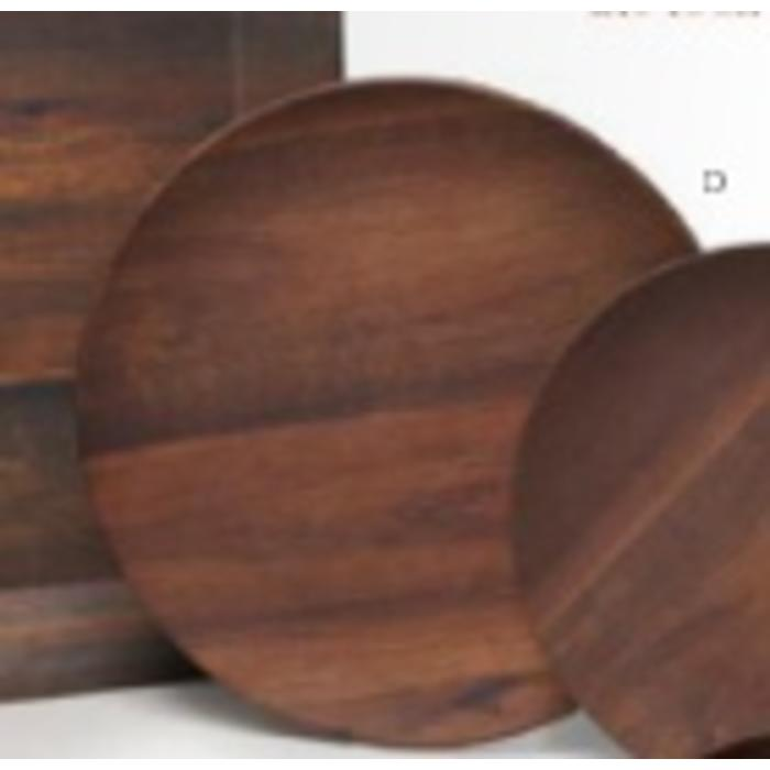 Rosewood round dinner plate
