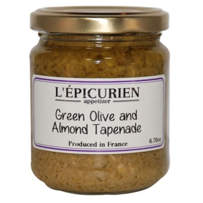 L'Epicurien Green Olive & Almond Tapenade