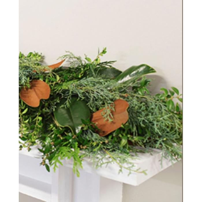 Fresh Bunches Garland 10'