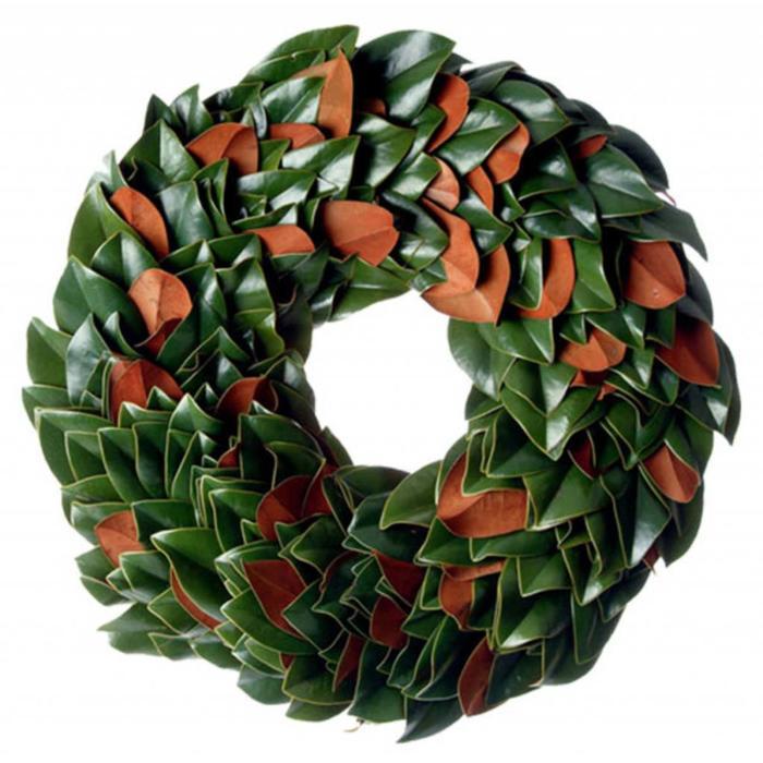 """The Original Magnolia Wreath 18"""""""