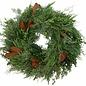 "Fresh Bunches Wreath 36"""