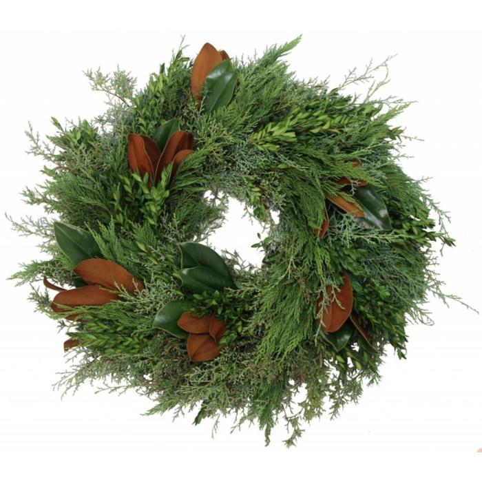 "Fresh Bunches Wreath 18"""
