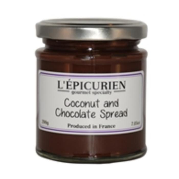 L'Epicurien Coconut & Chocolate Spread