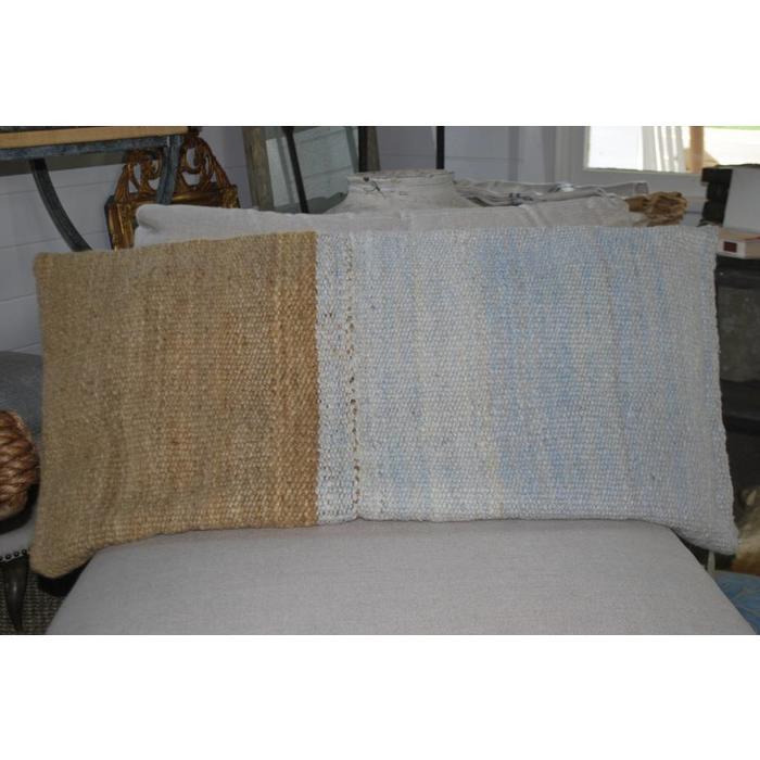 Pillow, Handwoven in Uruguay