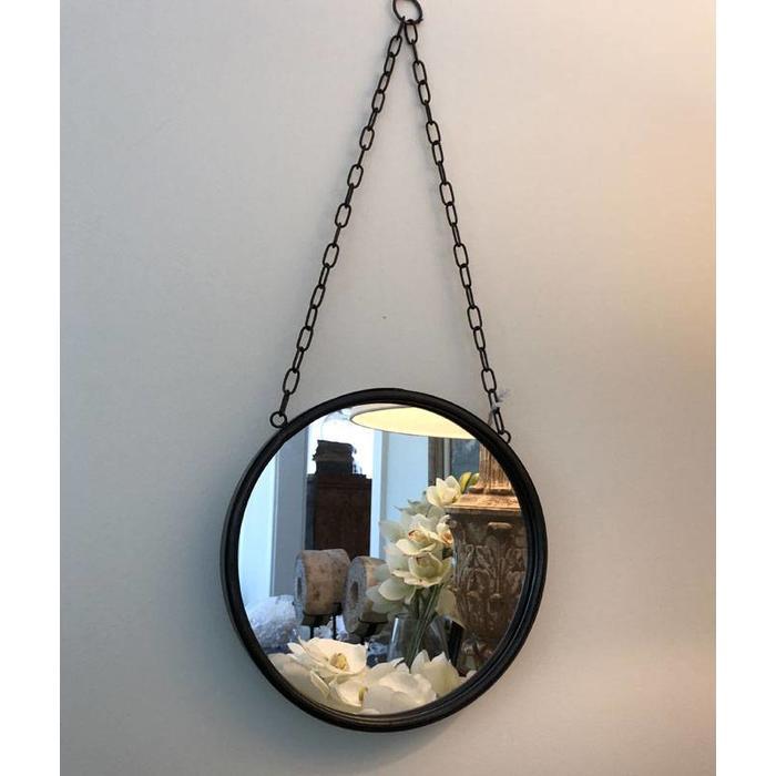 Round Metal Mirror