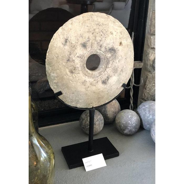 Big White Disk with Stand