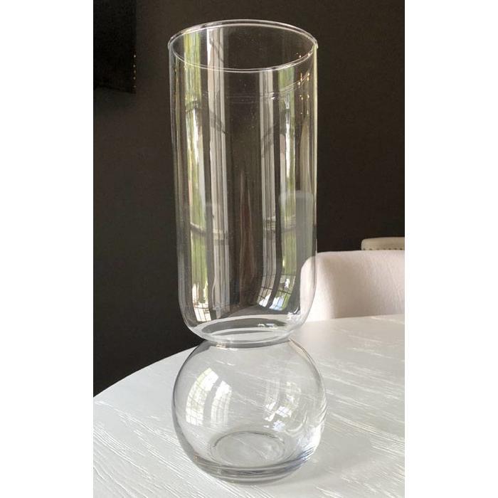 Bulb Vase - Extra Tall - Clear