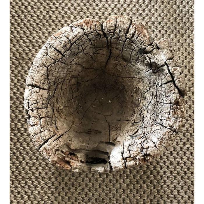 Large Wood Mortar