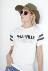 Midnight Rider Nashville Football Tee