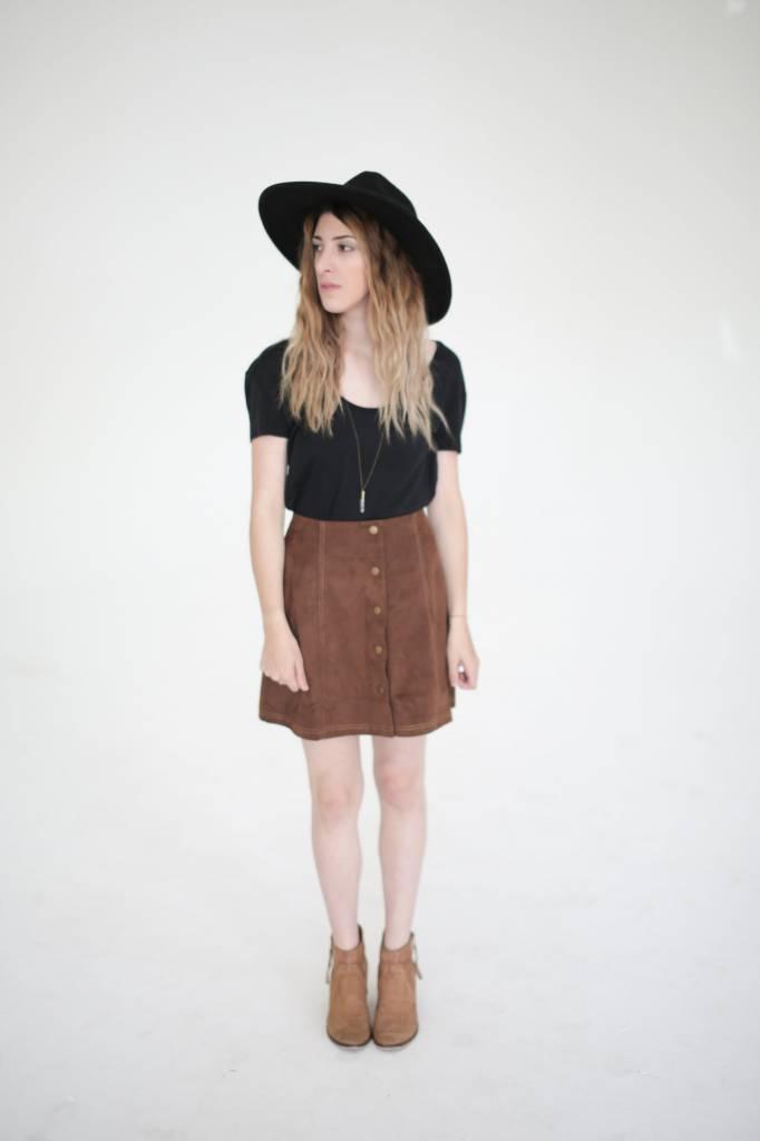 Motel Tate Miniskirt
