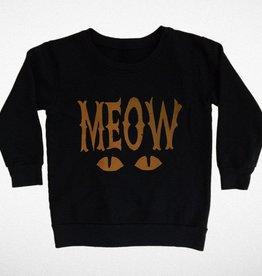 Tiny Whales Meow Sweatshirt