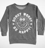 Tiny Whales Donut Worry Sweatshirt