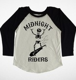 Tiny Whales Midnight Riders Raglan