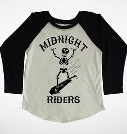 Tiny Whales Midnight Riders Raglan