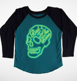 Tiny Whales Rad to the Bone Raglan