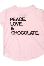 Chaser Peace & Chocolate Tee