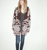 Moon River White Russian Sweater