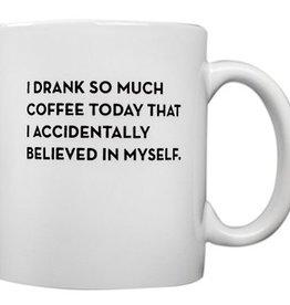Sapling Press Believe in Myself Mug