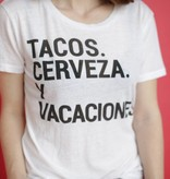 Chaser Tacos y Cerveza Tee