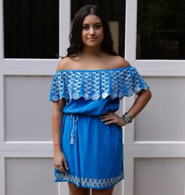Rahi Cali Blue Daisy Dress