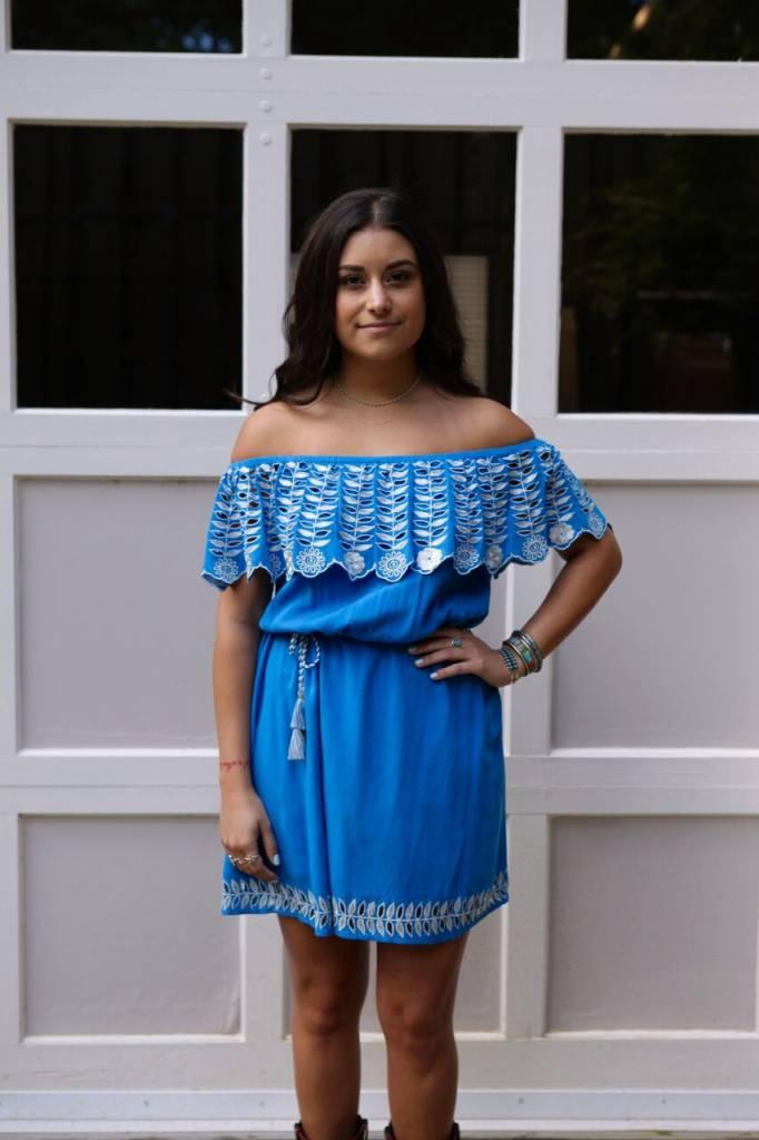 Rahi Cali Blue Daisy Dress